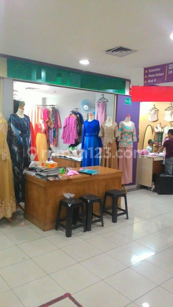 Kios BKS Mayestik strategis,cocok untuk toko di kebayoran Lama Jakarta Selatan