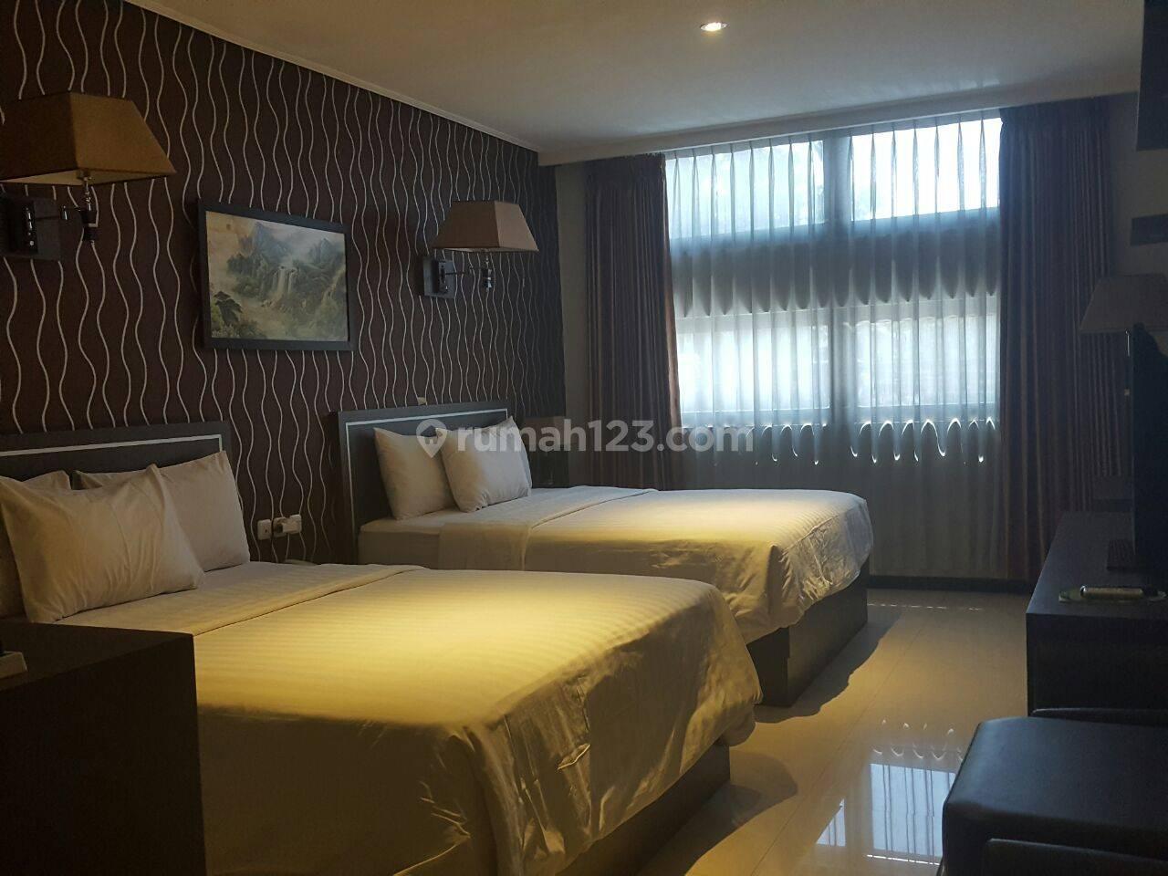 Hotel + Ruang Usaha Di Daerah Pasir Kaliki terdapat lebih dari 50 kamar bagus untuk usaha dan investasi
