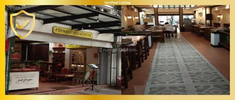 Ruko di lokasi Strategis Braga Bandung, cocok untuk usaha kuliner