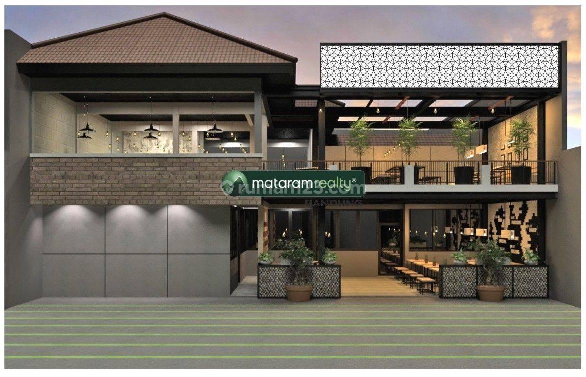 Miliki Segera Cafe di Lokasi Strategis Cikutra Bandung - Bangunan + Interior 100% Baru, Dikelilingi Area Kampus dan Perkantoran, Ijin Lengkap