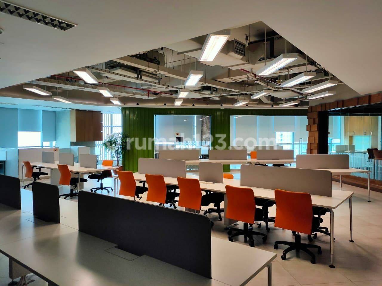 MURAHHH!!!  OFFICE SPACE EXCLUSIVE FURNISHED 376m² APL TOWER @Central Park, Podomoro City