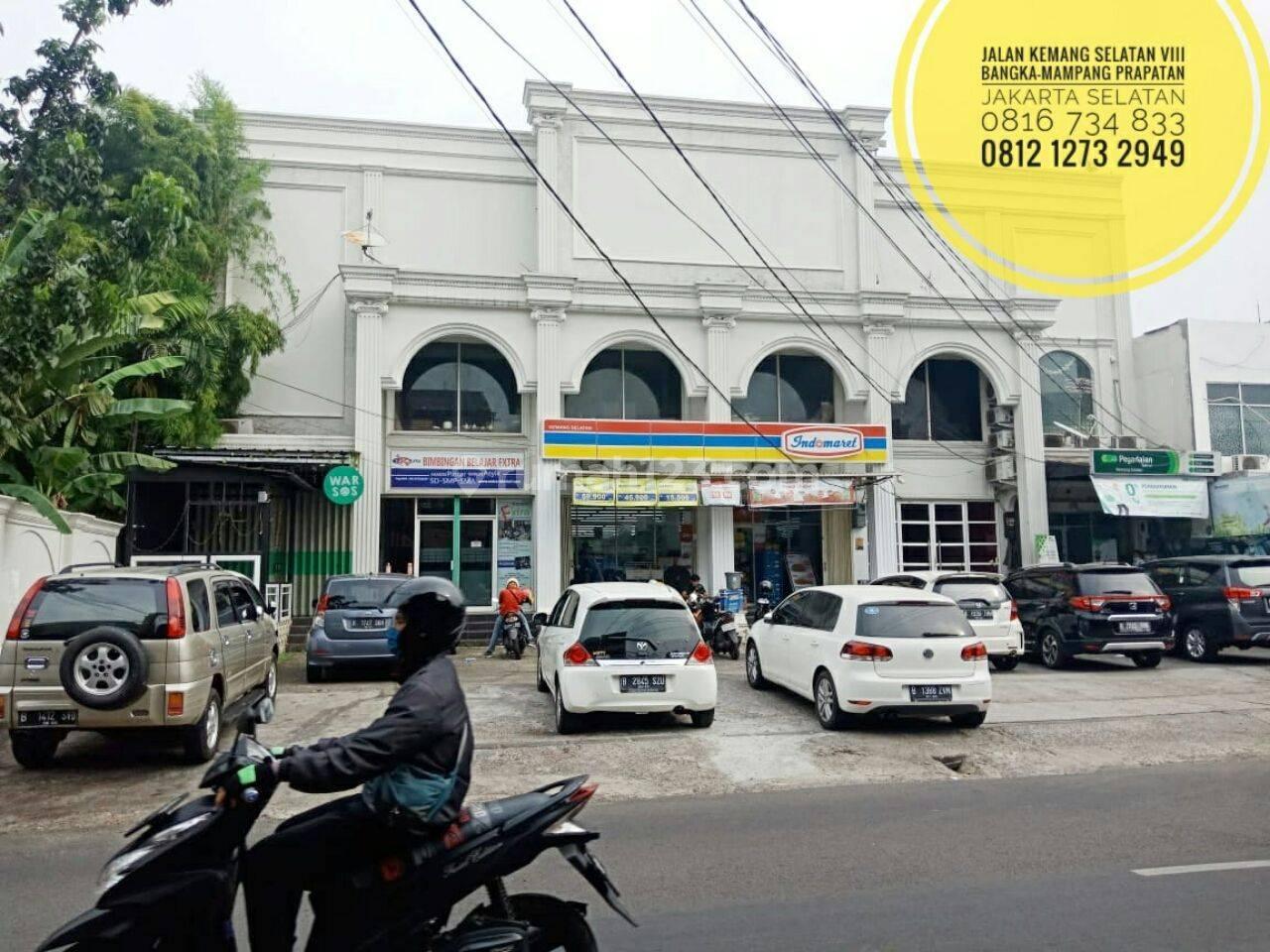 TerMURAH Ruang usaha di isi Indomaret Kemang Lt 772m Bangka Mampang Prapatan Jakarta Selatan