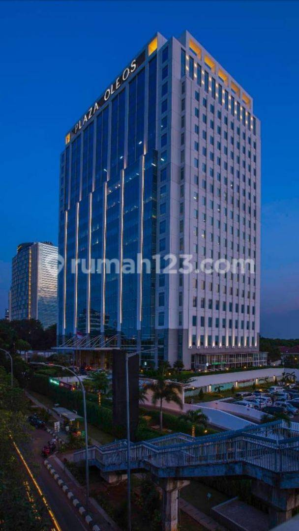 The Luxury and Greatest Office Building OLEOS PLAZA 1 at Jl. TB Simatupang, Jakarta Selatan