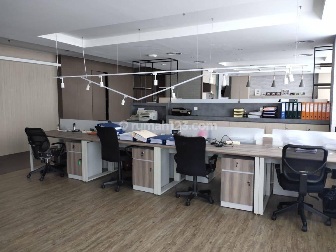 Disewakan office space The Suites Tower, Pantai Indah Kapuk
