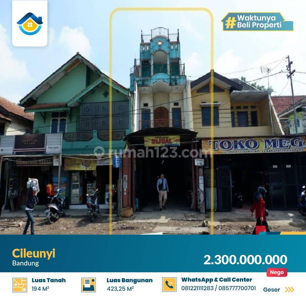 Ruko Komersil Strategis di Cileunyi, Bandung Timur