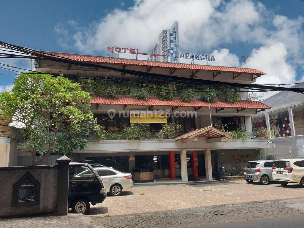 ruang usaha hotel prapancha di lokasi yg sangat strategis di Kebayoran Baru