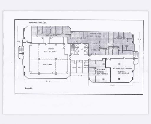 Di  Cepat :   Ruang Office / kantor  Di Berita Satu Plaza  GATOT SUBROTO