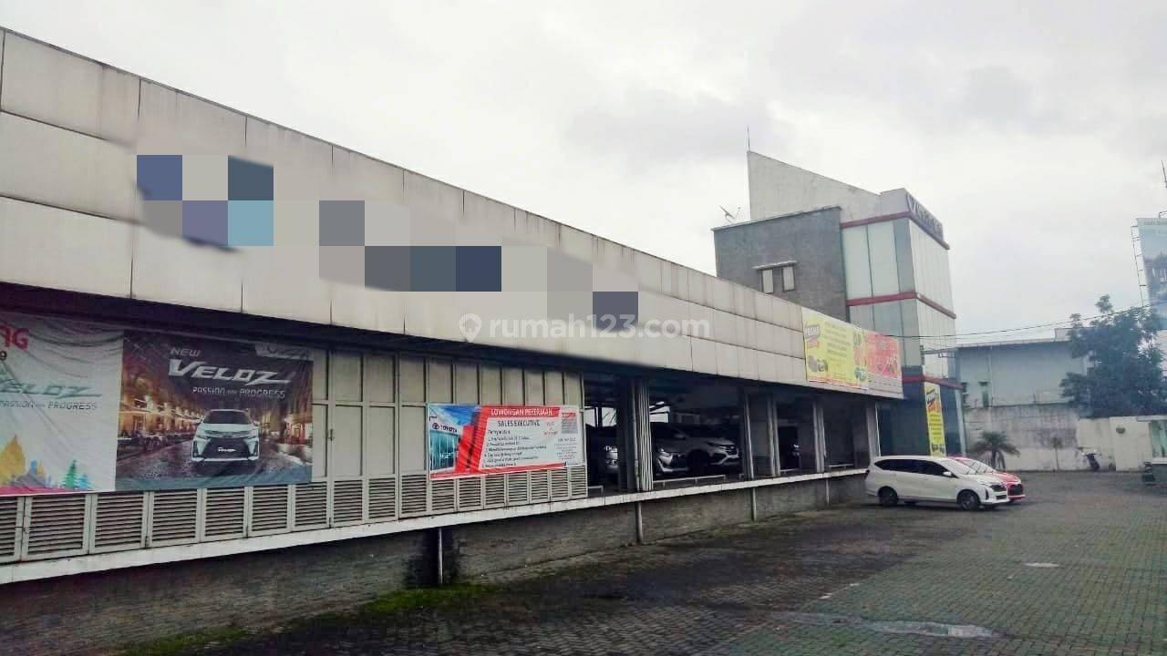 Gedung 2 Lantai Cocok Untuk Usaha Atau Kantor di Mainroad Kopo Dekat Tol Kopo