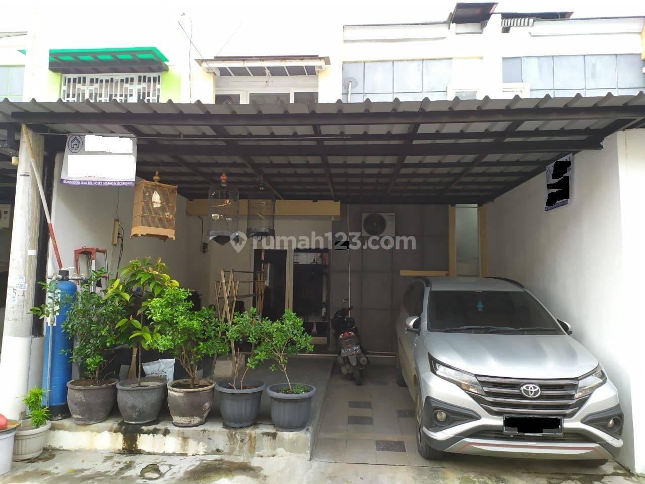 Rumah 2 Lantai Bebas Banjir di Golden Palm Residence