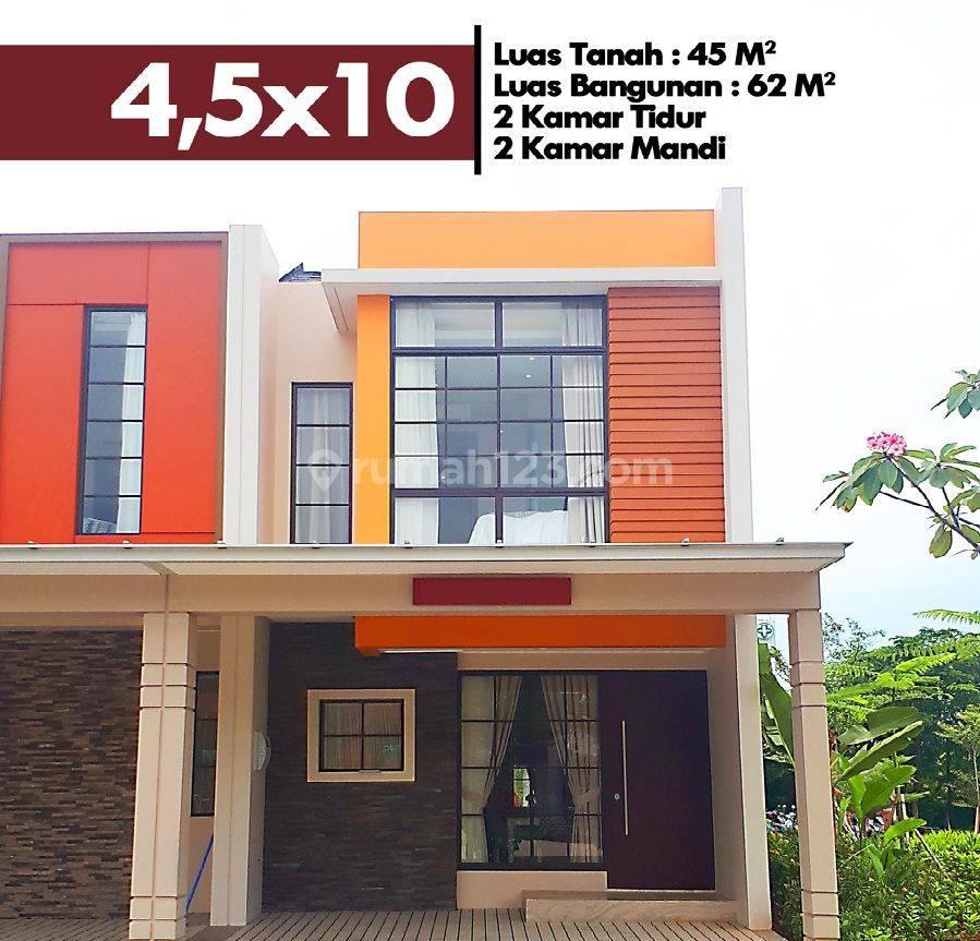 TERMURAH!!! Rumah 2 Lantai PIK 2, Uk 4,5x10, Tahap 1 HANYA 1.25M!!!