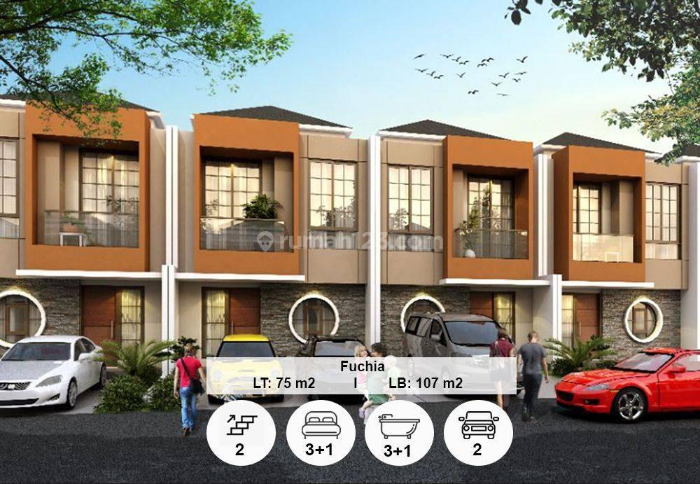 Rumah 2 Lantai PIK 2, Uk 6x12.5, Tahap 1 Termurah Hanya 2m Nego!!!