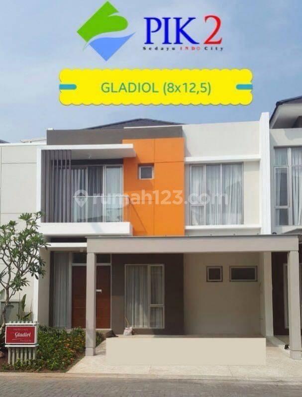 Rumah 2 Lantai PIK 2, Uk 8x12.5, Tahap 1 Termurah Hanya 2.85m Nego!!!