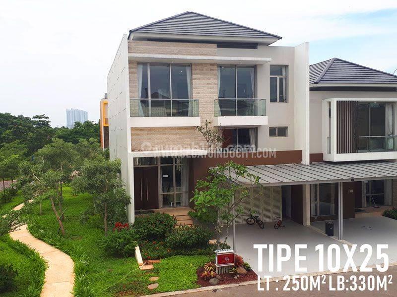 Rumah 2.5 Lantai PIK 2, Uk 10x25, Tahap 1 Termurah !!!