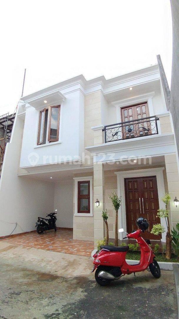 Rumah Baru Elegan Di Kebagusan Dekat CBD Simatupang Jakarta Selatan