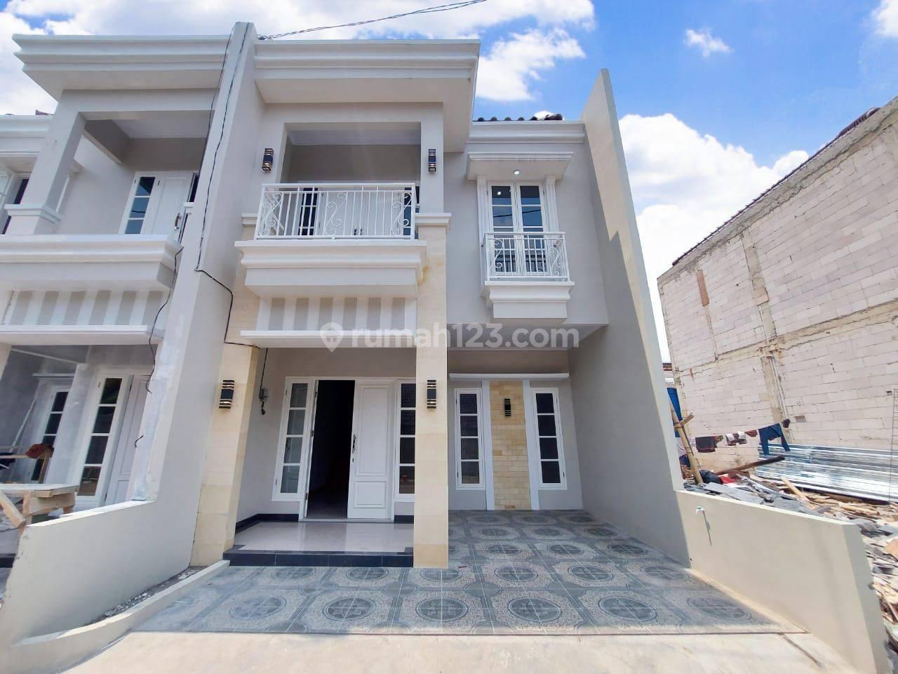 Rumah baru minimalis tinggal masuk lokasi setrategis di Jagakarsa jakarta selatan