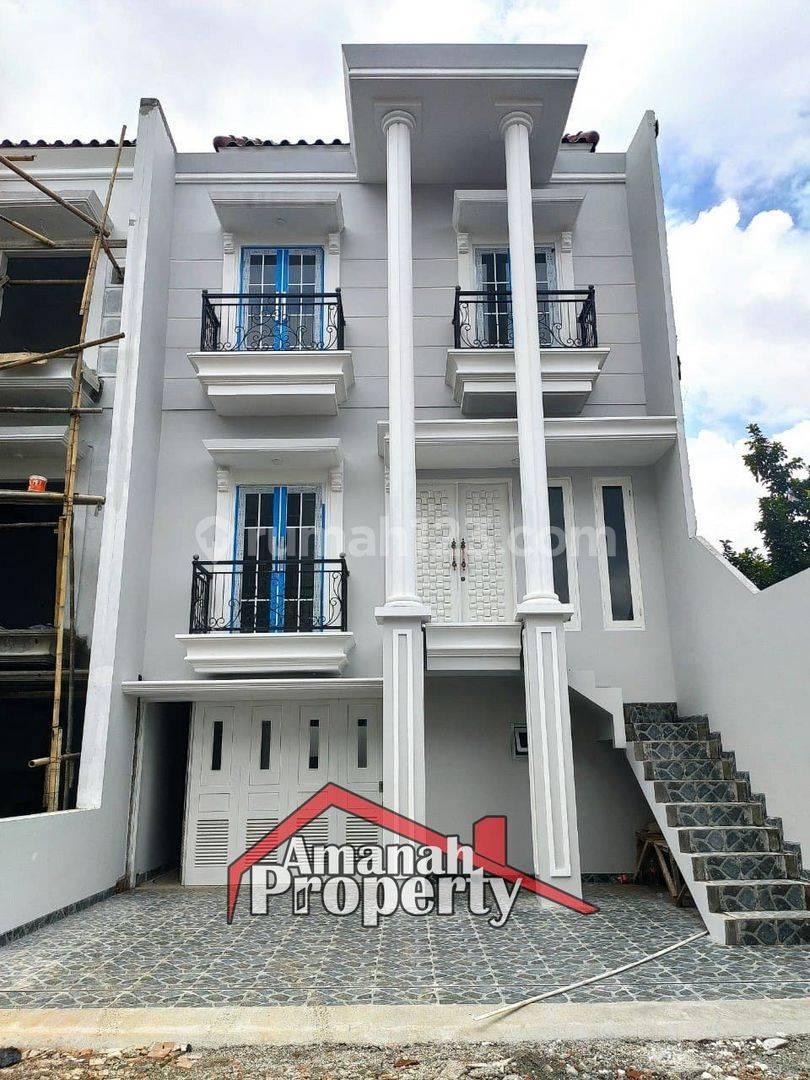 Rumah di Jagakarsa Mewah dengan Pillar Megah 8 Menit ke Tol Andara