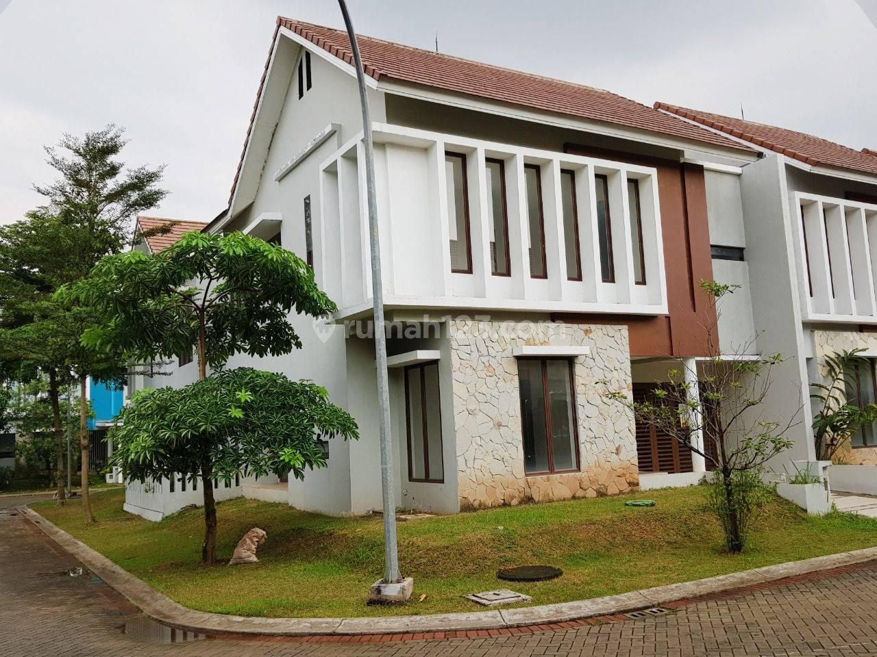 Rumah Hoek di Bintaro Discovery Conserva sektor 9 Bintaro lt 179 m