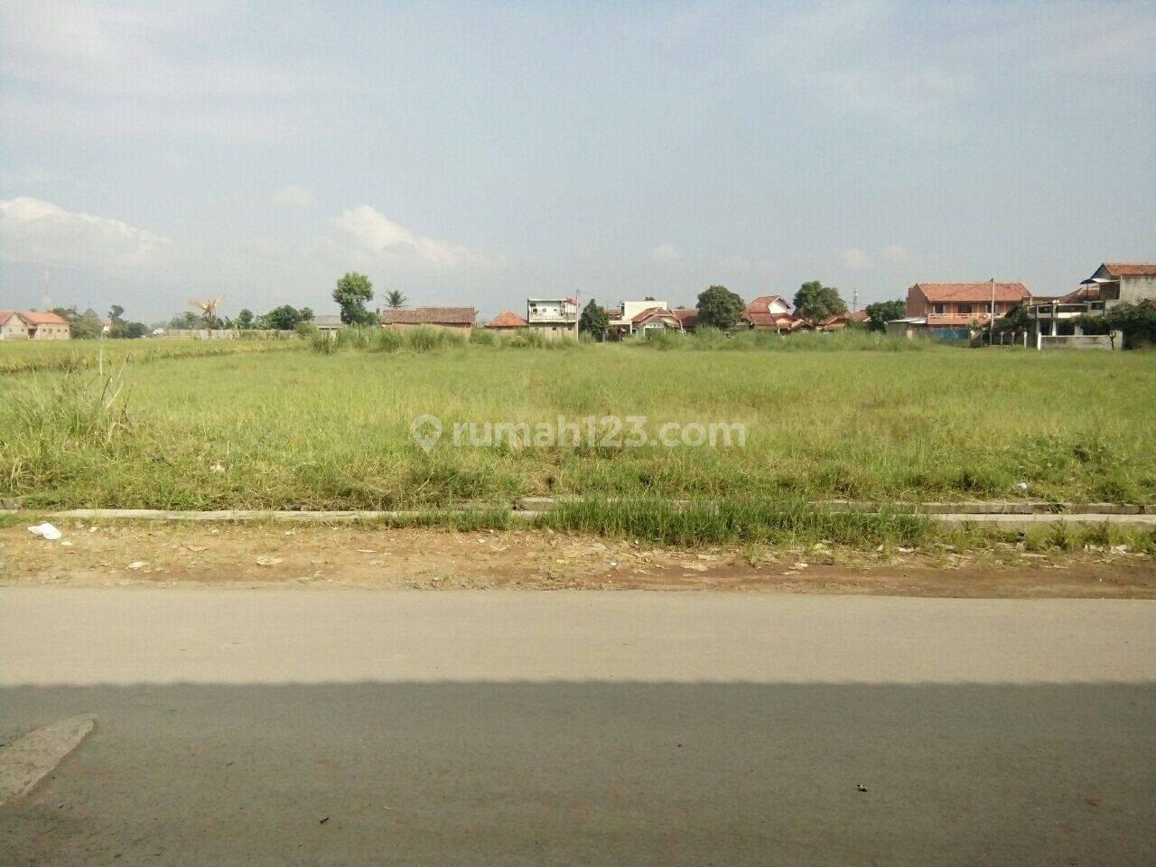 Tanah Cocok Untuk Cluster Perumahaan Lokasi Dekat Alun-alun Banjaran