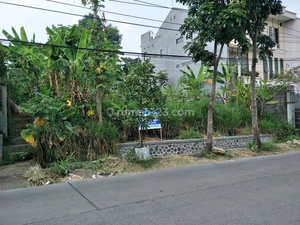 Tanah Mainroad, Kontur tanah datar, Jl. Sukahaji Raya, Lm 18m. Jarang ada, Cocok Untuk Usaha & Kantor.