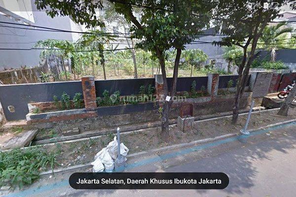 Tanah Jalan Tulodong Senopati kebayoran Baru Depan Taman Kotak MURAH