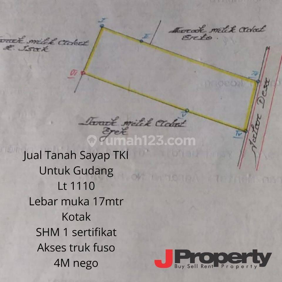 Tanah Siap Pakai untuk Gudang/workshop sayap Taman Kopo Indah