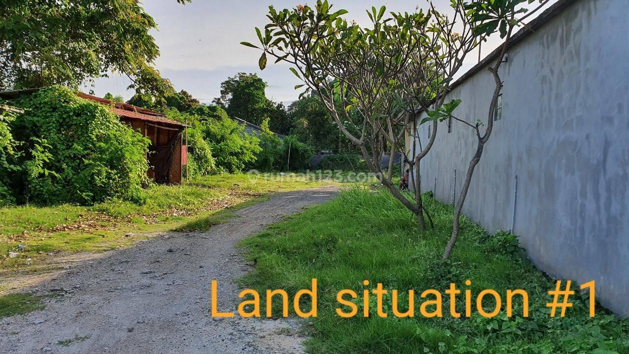 Tanah luas 100 meter dari pantai Sanur