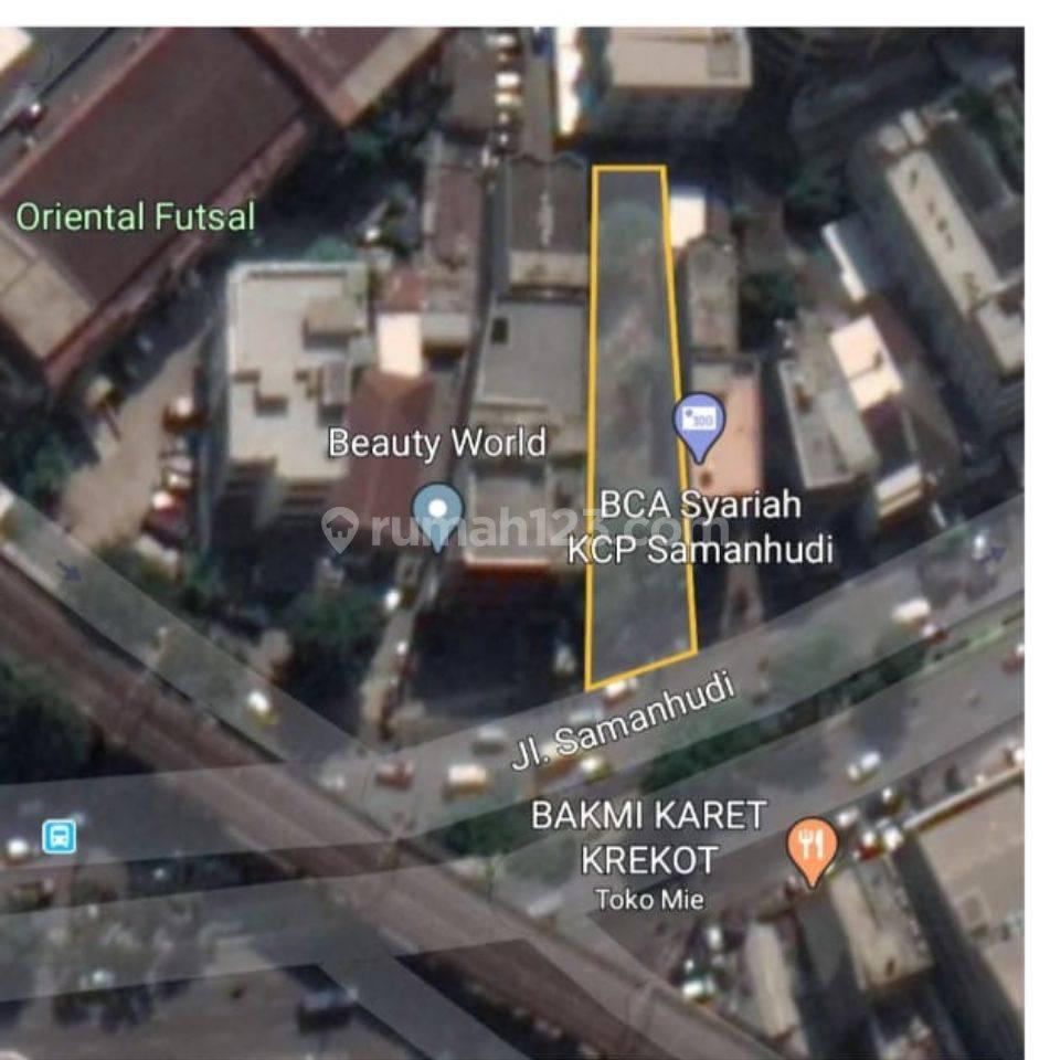 Tanah Pasar Baru dibawah NJOP Jakarta pusat