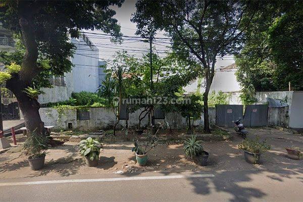 Tanah Jalan Kertanegara Senopati Kebayoran Baru Murah dekat SCBD Sudirman