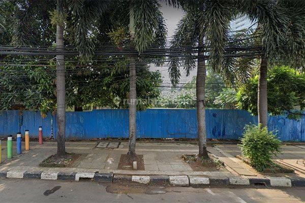 Tanah Jalan Cikini Raya Menteng 1.100m Murah ijin bisa 7 Lantai komersial
