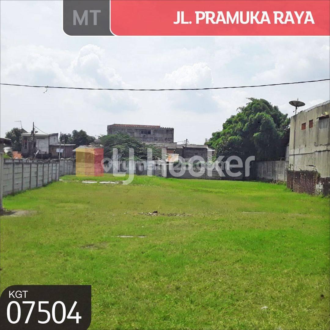 Tanah Jl. Pramuka Raya Cempaka Putih, Jakarta Pusat