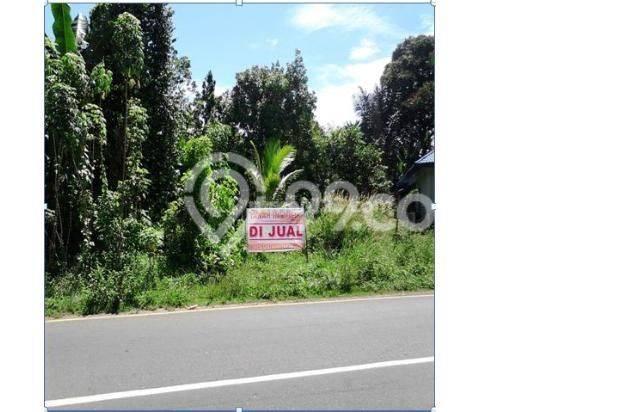 tanah luas harga murah lokasi pinggir jalan di sukaraja bengkulu