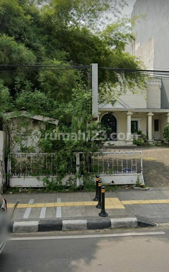 Rumah hitung tanah dengan luas 602m di Gondangdia Menteng Jakarta Pusat