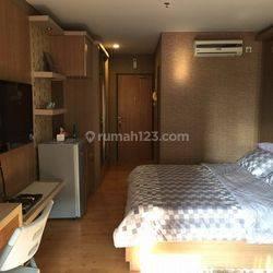For Sale Good Studio w/ Certificate @ Taman Sari Semanggi Apartment - 7 th Floor with Balcony - Furnished