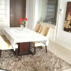 Kemang Village Cosmo Tower 2 BR Well Maintained Unit, Natural Colour Theme