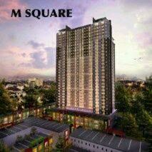 Apartemen M-Square lantai 7 type studio di cibaduyut bandung