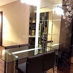 Apartemen Kemang Village - Type 2BR Fully Furnish Interior Mewah View City Murah ( NEGO )