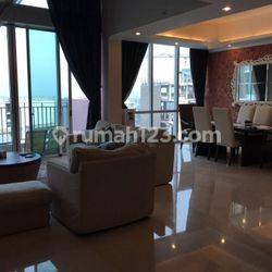 Apartemen Kemang Village Cosmo Tower 3 BR Full Furnished High Floor View City