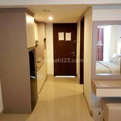 Apartemen murah H Residance Studio Full Furnish