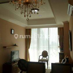 MURAH Apartemen Denpasar Residence 2 BR Kintamani Tower Fully Furnished Middle Floor View City