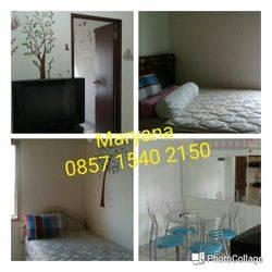 Apartemen Medit 1 di Tanjung Duren 2 BR Furnish Bagus Tahunan
