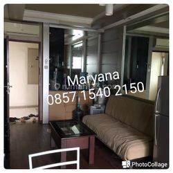 Apartemen Medit 2 di Tj Duren 2 BR Furnish apik Tahunan
