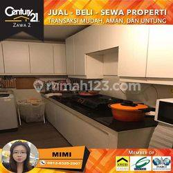 Apartemen Royal Mediterania Garden 3BR Full Furnished Lantai Rendah View Pool