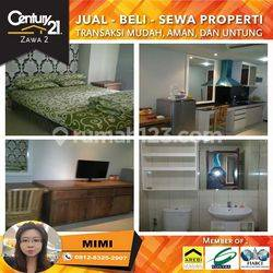 Apartemen Royal Mediterania garden Type Studio Fully Furnished Lantai Sedang