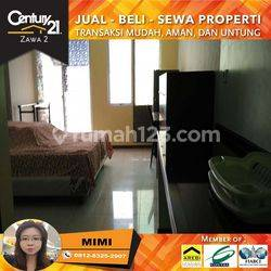 Apartemen Royal Mediterania Garden Type Studio Full Furnished Lantai Tengah View Pool