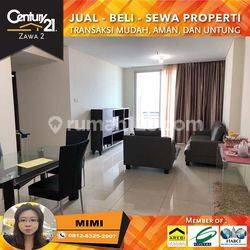Apartemen Central Park Residence 2BR Full Furnished Midle Floor View Pool