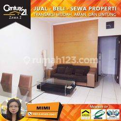 Apartemen Mediterania garden Type Town House Furnished Labtai Rendah view Pool