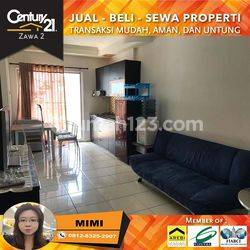 Apartemen Medit 2 Tj.Duren 2 Bed Full Furnished Middle Floor View City