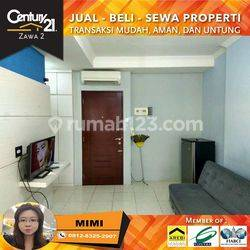 Apartemen Mediterania Garden 2 Bagus 2BR Furnished Low FLoor View Pool