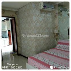 Apartemen Royal Medit - di Tanjung Duren 1 BR Lavender Full Furnish Unit Rapih Terawat Tahunan