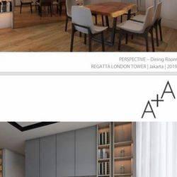 Apartemen Regatta Baru Brand New Full Furnish